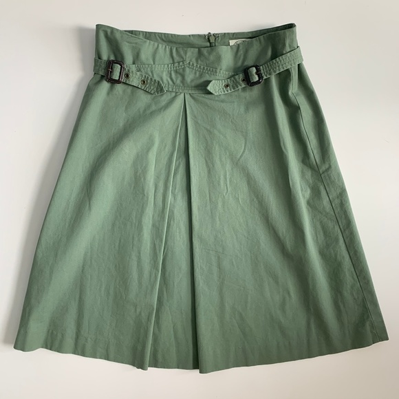 Anthropologie Dresses & Skirts - Anthropologie Sitwell Green Aline Skirt Size 4